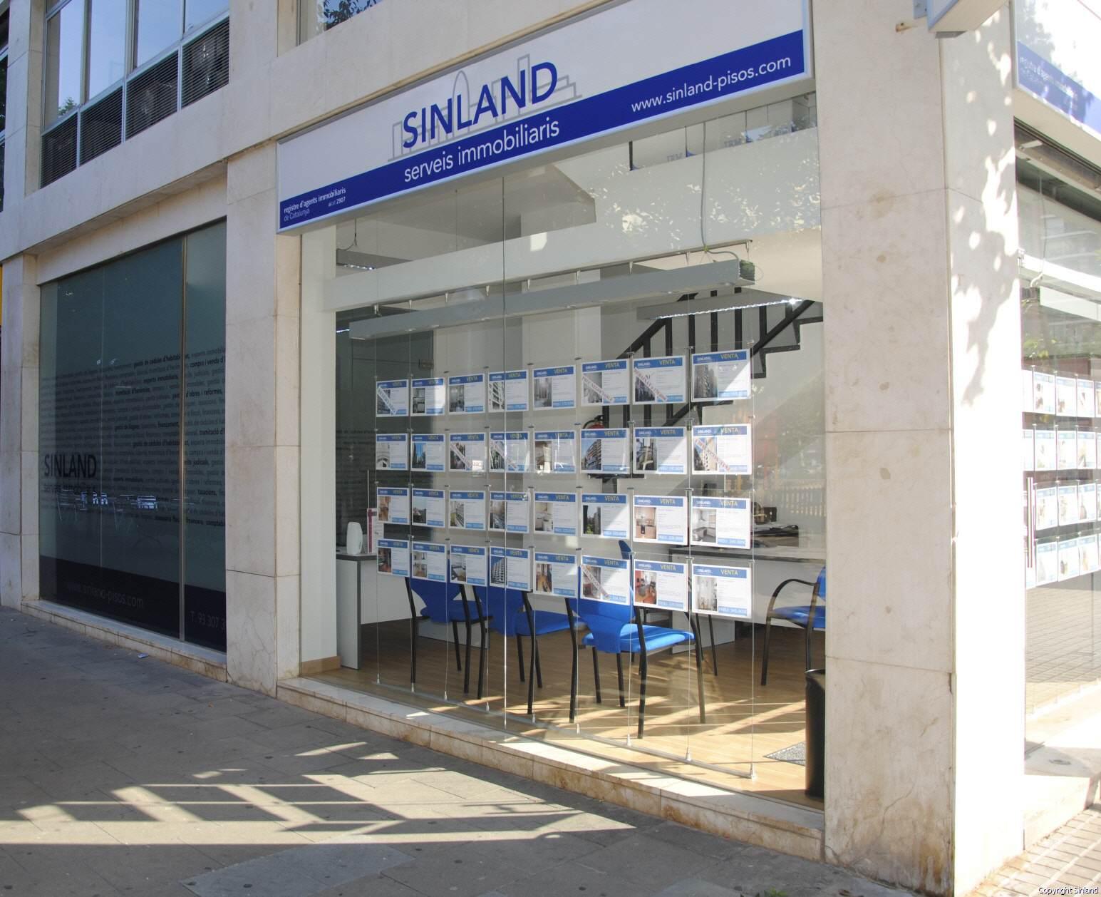 Sinland la inmobiliaria de barrio m s cercana a ti for Portales inmobiliarios barcelona